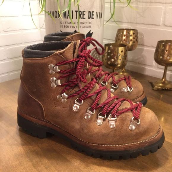 Dexter Shoes - Classic Vintage Dexter Brown Leather Hiking Boots e5a6f84cf3